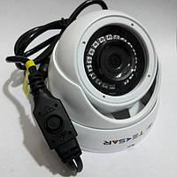 Видеокамера купольная уличная Tecsar AHDW 1Mp-20FI-out-eco