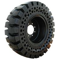 12 x16.5 McLaren AT на диске. Полупневматические шины для минипогрузчиков. Nu-Air (33x12-16)