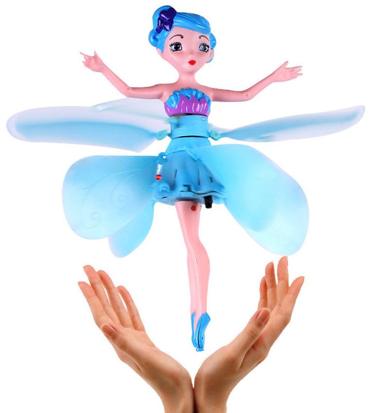 Игрушка Летающая волшебная фея с подсветкой Flying Fairy