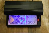 Детектор валют работает от сети ультрафиолет
