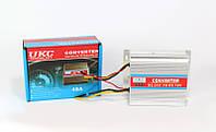 Преобразователь напряжения 24 -12В DC/DC: потенциометр для управления выходом, 127х76х28 мм