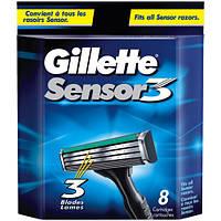 Картридж для бритья Gillette Sensor 3 оригинал