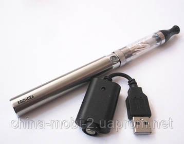 Электронная сигарета UKC EGO-CE6 1100 мАч + заправка, Silver, фото 2