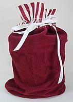 Подарочный новогодний мешочек, 21 см