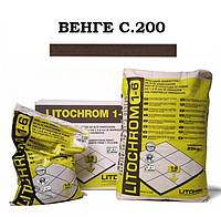 Затирка Litokol Litochrom 1-6 C.200 венге, 5 кг, фото 1