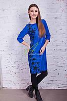 Вечернее женское платье от производителя - зима 2017 - Код пл-107