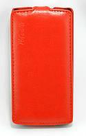 Чехол книжка для LG G3S BEAT D724, D722, D725, D728 вертикальный флип, Prestigious Красный