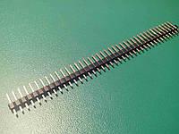 Коннектор прямой 40pin папа-папа 2.54 шаг Arduino
