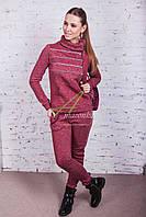 Брендовый спортивный костюм для девушек оптом осень - Артикул кос-61