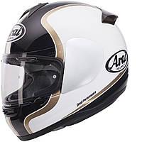 Мотошлем Arai Axces II Dual белый черный золото L