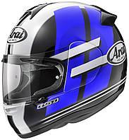 Мотошлем Arai Axces II Sensai черный белый синий XL