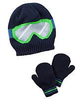 Набор шапка и варежки ТМ Carters (2T-4T)