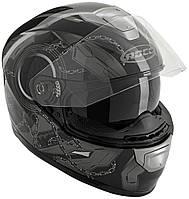 Шлем Rocc 421  schwarz  anthrazit  L
