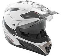 Шлем Rocc 771 weiß-schwarz S