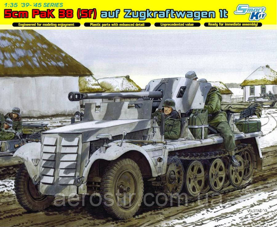 5cm.PaK 38[Sf]auf Zugkraftwagen 1t 1/35 DRAGON 6719