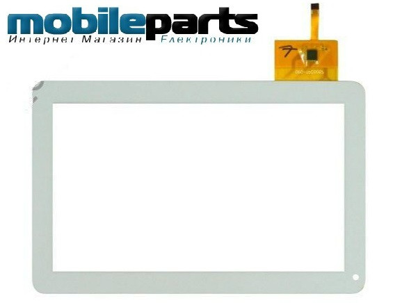 Оригинальный Сенсор (Тачскрин) для Globex GU110A (белый) 12 Pin - mobileparts.com.ua в Хмельницкой области