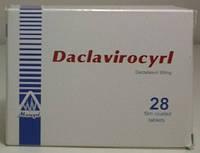 Даклатасвир - Daklatasvir 28 таб. по 60 мг. Daclatasvir №28