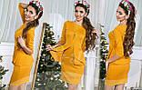 Платье с баской, размеры 42; 44; 46  код 469Р, фото 3