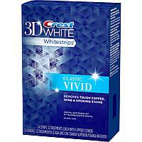 Crest 3D Whitestrips Classic Vivid (24 strips)- Отбеливающие полоски для зубов (24 полоски)