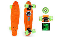 Скейтборд Penny Board LED WHEELS FISH SK-405-3