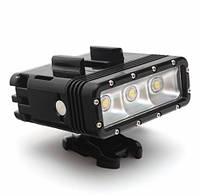 Подводный фонарь Telesin для GoPro, Xiaomi, SJcam, Sony Action Cam