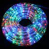 Новогодняя светодиодная гирлянда шланг 10м RGB