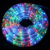 Новогодняя светодиодная гирлянда шланг 10м RGB , фото 1