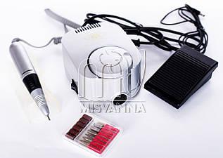 Профессиональный фрезер GD 3 Global Fashion на 45000 оборотов 65 Вт (серебро)