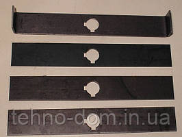 Ножи «вертолет»( жосткие молотки) комлпект из 4 шт.