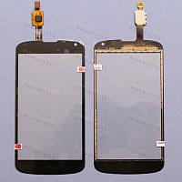 Оригинальный Тачскрин сенсор Prestigio multiphone 3350 duo black (pap3350)