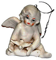 Статуэтка ангел из фарфора, подвеска, 70х60х70