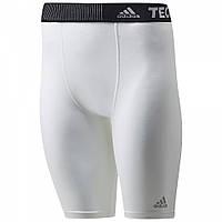 Шорты компрессионные Adidas TechFit White (P92093)