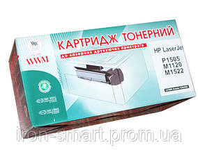 Картридж HP 36A (CB436A), Black, P1505/M1120/M1522, 2k, WWM (LC36N)