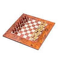 Шахматы на магните малые размер: 31,5х31,5х0,6 см. 1802