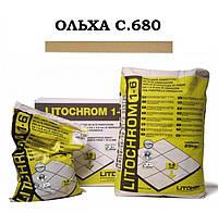 Затирка Litokol Litochrom 1-6 C.680 ольха, 5 кг, фото 1