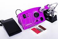 Профессиональная фрезерная машина Nail Master DM-211 для маникюра и педикюра 30 Вт и 35000 об./мин. (purpure)