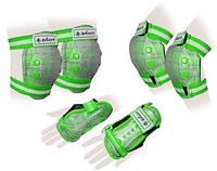 Защита для роликов детская ZELART CANDY зеленая