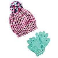 Набор шапка и перчатки ТМ Carters (4-8)