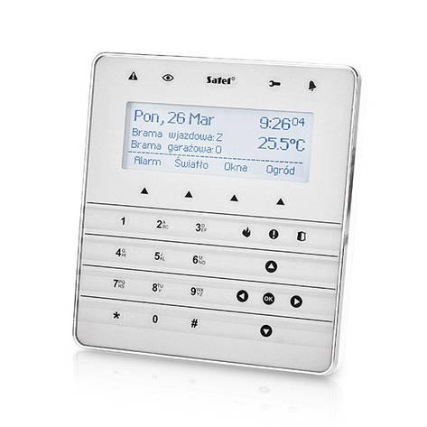 Satel INT-KSG-SSW - сенсорная клавиатура, фото 2