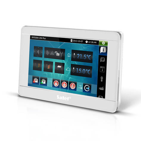 Satel INT-TSI-SSW - сенсорная клавиатура с дисплеем, фото 2