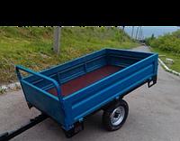 Прицеп тракторный Кентавр ПМ-0,8С (200×120×36 cм, колеса 5.00-12, самомвал) ДТЗ