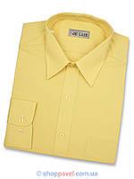 Мужская рубашка De Luxe 112D желтая Л, фото 1