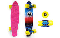 Скейтборд Penny Board ABSTRACT SK-4442-5