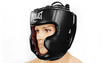 Шлем боксерский с полной защитой FLEX EVERLAST BO-5229-BK