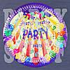 Бумажные тарелки Вечеринка 18 см (10 шт)