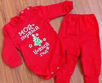 Детский новогодний костюм для малышей полгода-год S166