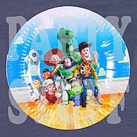 Тарелка картонная Истории игрушек 23 см (10 шт)