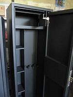 Сейф для 3 ружей до 1480мм усиленный + кассовое отделение