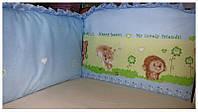 """Защита в кроватку для новорожденных на молнии """"Загадка"""""""