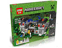 "Конструктор LEPIN 18005 Minecraft \ Майнкрафт (аналог Lego 21127) ""Крепость"", 795 дет., фото 1"